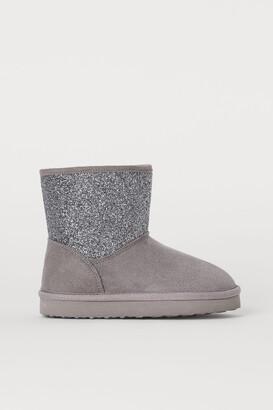 H&M Faux Fur-lined Boots