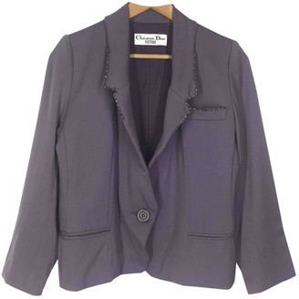 Christian Dior Purple Cotton Jackets