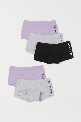 H&M 5-pack Cotton Boxer Briefs