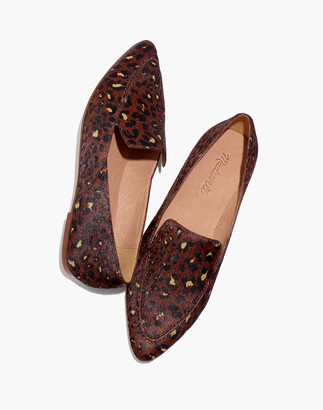 Madewell The Frances Skimmer in Painted Leopard Calf Hair