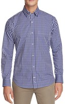 Tailorbyrd Enzo Ferrari Check Classic Fit Button Down Shirt