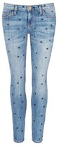 Current/Elliott 'The Stiletto' star print skinny jeans