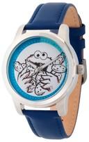 Sesame Street Unisex Unisex Silver Alloy Watch - Blue