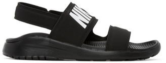 Nike Black Tanjun Sandals