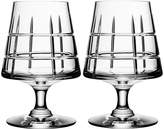 Orrefors Street Specialty Drinkware by Jan Johansson Cognac Glass, Set of 2