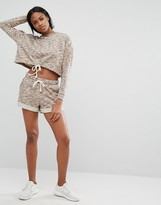 Y.A.S Lounge Sweat Shorts Co-ord