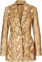 Ralph Lauren Augustine Python Jacket