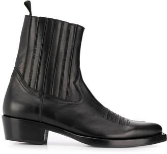 Sandro Paris Cowboy Boots