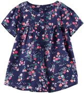 Osh Kosh Toddler Girl Button Front Floral Blouse Top