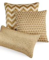 "Hotel Collection Mosaic 10"" x 20"" Decorative Pillow"