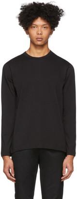 Comme des Garçons Shirt Black Plain Long Sleeve T-Shirt