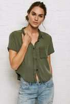 American Eagle Outfitters Don't Ask Why Short-Sleeve Button-Down Shirt