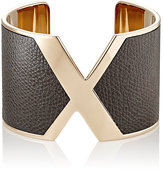 Valextra Women's VX Cuff-DARK GREY