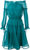 Alberta Ferretti off-the-shoulder midi dress - women - Silk - 44