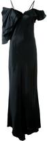 Saint Laurent Lingerie Evening Dress
