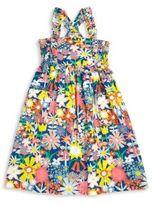 Stella McCartney Girl's Celeste Floral Organic Cotton Dress