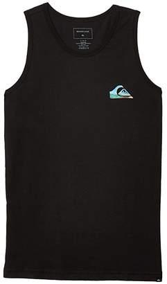 Quiksilver Familiar Fire Tank Top (Big Kids) (Black) Boy's Clothing