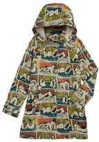Burberry Girl's Geri Print Hooded Rain Jacket