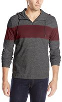 Kenneth Cole New York Kenneth Cole Men's Long Sleeve Colorblock Half Zip