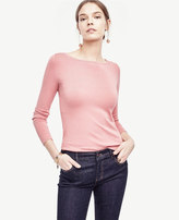 Ann Taylor Petite Boatneck Sweater