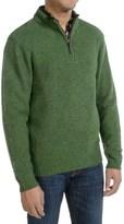 Pendleton Western Shetland Sweater - Zip Neck (For Men)