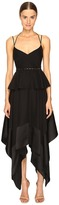 Prabal Gurung Thin Strap Hankerchief Hem Dress Women's Dress
