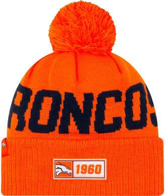 New Era Denver Broncos NFL Road Sideline Beanie Hat