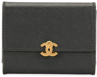 Chanel Pre Owned 1998s CC logo trifold wallet purse