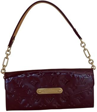 Louis Vuitton Sunset Boulevard Purple Patent leather Clutch bags