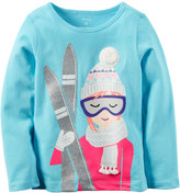 Carter's Girls 4-8 Graphic Thermal Tee