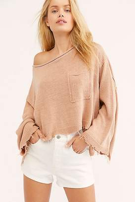 Free People Prism Solid Sweater
