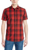 Volcom Men's Icarus Plaid Woven Shirt