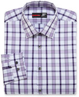 Jf J.Ferrar JF Long-Sleeve Cotton Stretch Dress Shirt - Slim Fit