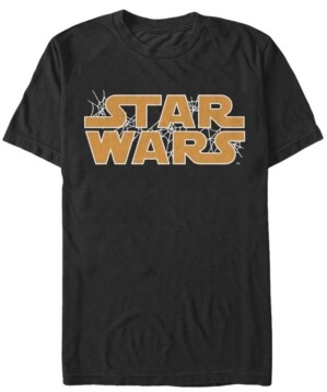Fifth Sun Star Wars Men's Spider Webs Logo Short Sleeve T-Shirt