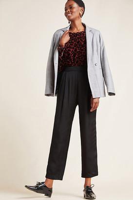 Velvet by Graham & Spencer Hillary Satin Trousers By in Black Size XS