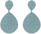 Latelita Monte Carlo Earring Aqua Blue Silver