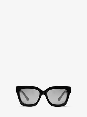 Michael Kors Berkshires Sunglasses - Black/white