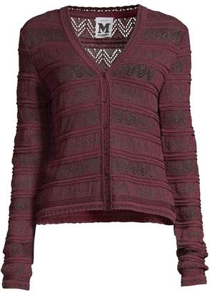 M Missoni Open Knit Cardigan
