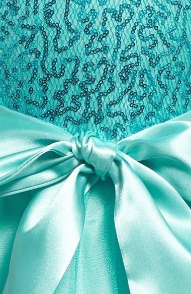 Un Deux Trois Sequin Tulle Dress (Big Girls)