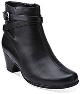 Clarks Leyden Summit Leather Booties