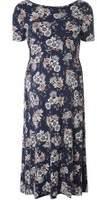 Dorothy Perkins Womens **Maternity Navy Floral Skater Dress