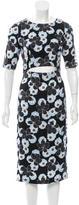 Suno Silk Floral Print Dress w/ Tags