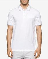 Calvin Klein Men's Stripe-Tip Polo