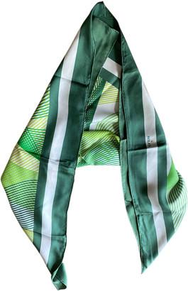 Rolex Green Silk Scarves