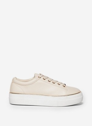 Dorothy Perkins Womens Nude 'Ignite' Trainers