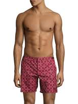 Parke & Ronen Men's Catalina Solid Stretch Swim Trunks