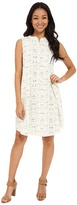 Lilla P Crinkle Cotton Sleeveless Shirtdress Women's Dress