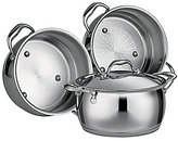 Southern Living Stainless Steel Tri-Ply 4-Quart Multi-Cooker