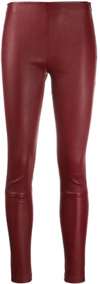 Manokhi Textured Style Fitted Leggings