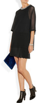 3.1 Phillip Lim Embellished silk and cotton-jersey dress